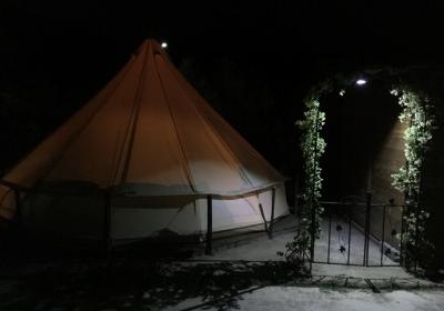 Campeggio Bungalow Gole Alcantara Lanterna Privato